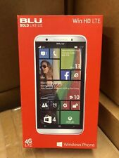 NEW BLU Win HD LTE X150Q Unlocked Dual SIM Windows 8.1/10 Phone WHITE