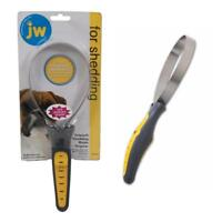 JW SHEDDING BLADE Dog Puppy Deshedding Dematting Rake Grooming Tool ALL COATS
