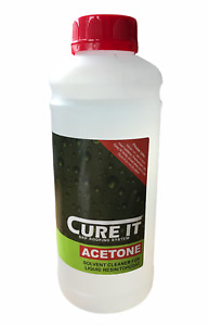 Cure It | Acetone | Solvent Cleaner | Flat Roofing | GRP Roofing | 1 Ltr