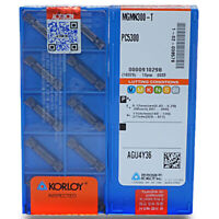 KORLOY MGMN300-T PC5300 3.0mm Cut-Off CNC Grooving insert Carbide inserts 10Pcs