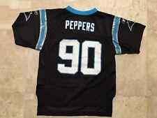 8004e919c Vintage Reebok Julius Peppers Carolina Panthers Jersey Size L (7) Toddler