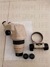 OLYMPUS SZ4045 SZ40 Microscope+Nikon 20X eyepieces+0.62X WD160 OBJECTIVE+Holder