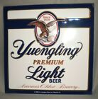 """Yuengling Light Beer Sign 16"""" x 16"""" New Embossed"""
