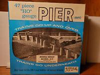 Atlas No. 80 HO Gauge 47 Piece PIER Set with Original Box - used