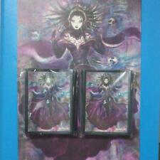 MTG War of the Spark Limited Poster & Card Sleeve Liliana x 100 Yoshitaka Amano