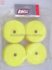 Team Losi LOSA7751 Cerchi 1/8 Buggy Dish Wheels Yellow (4) modellismo
