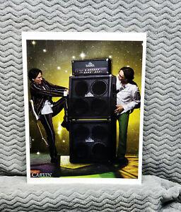Steve Vai Carvin Legacy Amplifiers Promo Photos & Guitar Picks<<>>