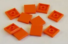 NEU // NEW 3070bpb109 Tile Face Lego 2 x Fliese mit Gesicht orange