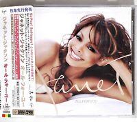 Janet* – All For You VJCP-68288 JAPAN CD OBI