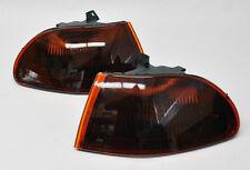 Honda Civic 92-95 4 Door Front JDM Smoke Amber Corner Lights Pair RH LH