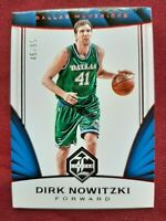 2016-17 PANINI LIMITED #88 DIRK NOWITZKI RED 45/99 *DALLAS MAVERICKS*
