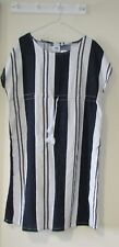 **Mama Licious Maternity Beach Dress. BNWT. SMALL Linen Blue and white. RRP £35