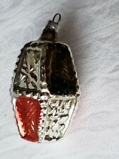 Vintage Christmas Ornament Blown Glass Early Western Germany Collectable