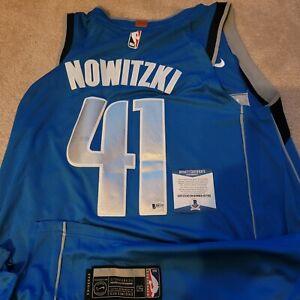 Dirk Nowitzki Dallas Mavericks NIKE SWINGMAN 50 Jersey Signed Autographed READ