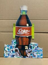 1 x  COCA COLA  BANNED BOTTLE DISPLAY (2-76)