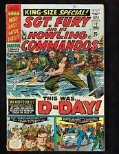 Sgt. Fury and His Howling Commandos Annual #2 ~King-Size Special!~ 1966 (4.5) WH