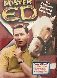 Mister ED The Complete Second Season Sealed Region 1 - Multi Region Player Req.