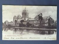 ±1905 Postcard AUSTRALIA MELBOURNE THE EXHIBITION BUILDING VICTORIA
