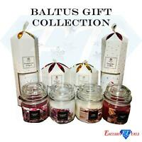Baltus Fragranced Candles Reed Diffuser Christmas Gift Set Collection Jarred