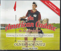 Oliver Horovitz An American Caddie In St Andrews 8CD Audio Book Unabridged
