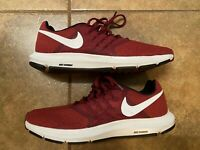 Nike Run Swift Mens sneakers Crimson Red White Running shoes athletic Sz 9