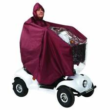 Drive Mobility Scooter Cape Blue Universal Waterproof Rain Cover Poncho Hood
