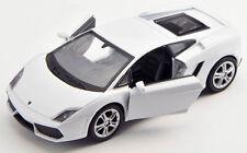 BLITZ VERSAND Lamborghini Gallardo LP 560-4 weiss Welly Modell Auto 1:34 NEU OVP