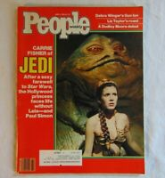 People Weekly Magazine Star Wars June 6 1983 Carrie Fisher Of Jedi Princess Leia