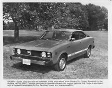 1978 Subaru DL Coupe Press Photo 0010
