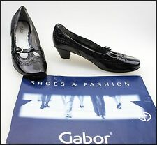 GABOR WOMEN'S LOW HEELS T-BAR FASHION SHOES SIZE AU 7, UK 5