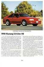 1990 Ford Mustang Article - Must See !!