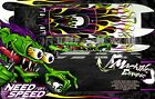 """BOAT HULL WRAP DECAL GRAPHICS KIT NEED FOR SPEED FOR PRO BOAT BLACKJACK 24"""" 42"""""""