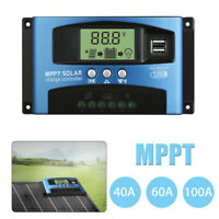 30-100A MPPT Laderegler 12/24V Solar Laderegler Solarregler Solarmodul Controlle