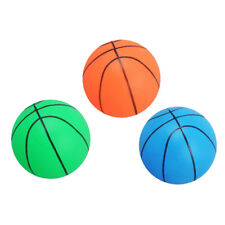 3 Pieces Kids Mini Basketball Inflatable Toy Indoor/Outdoor Sports Ball