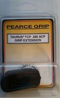 Pearce Grip Extension Taurus TCP 380acp Magazine PG-TCP Mag Finger Ext - NEW