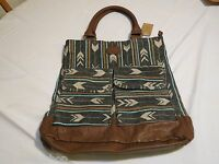 Billabong Billa bong tote bag purse handbag book bag travel NEW southwestern