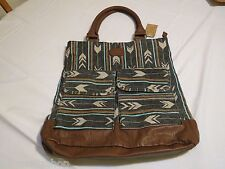 Billabong Billa bong tote bag purse handbag book bag travel NEW southwestern