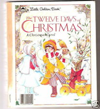 Little Golden Book THE TWELVE DAYS OF CHRISTMAS 1983