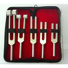 Tunning Fork Set of 5 pieces ALL Famous Frequency Numbers