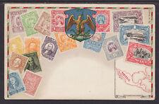 Zieher #94 unused PPC. Stamps of Mexico, Flat