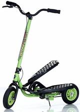 WingFlyer Z100 Kids Ages 6-10 Stepper Scooter Lime Green - Free Shipping!