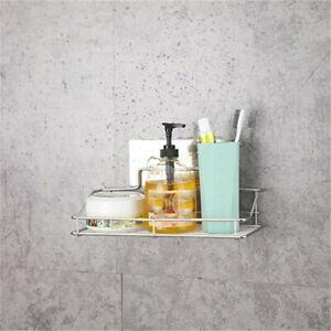 Bathroom Traceless Shower Caddy Holder Storage Rack Shelf Organiser Basket WS