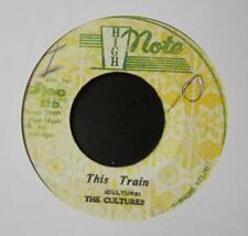 """Cultures(7"""" Vinyl) """"THIS TRAIN"""" / REVOLUTIONARES """"DUBBING TRAIN"""" -Jamai-VG/G+"""