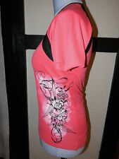 FOX Trikot Rad MTB Funktions Shirt rosa schwarz L (38 40 42)