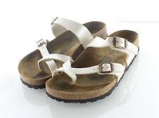 29-15 $100 Women's Sz 6 M Birkenstock Mayari Birko-Flor Hard Footbed Sandal