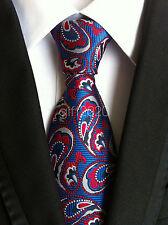 Mens gentleman Classic Silk Tie Necktie JACQUARD Neck Ties