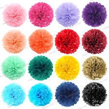 Tissue Paper Pompoms Pom Poms Flower Balls Fluffy Wedding Party Decoration