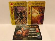 Overpower Image Collectible Card Game- Set of 15 Witchblade character Cards
