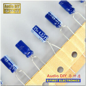 20pcs/200pcs Panasonic SU Series 4.7uF/25V Electrolytic Capacitor 5X11mm
