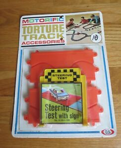 IDEAL MOTORIFIC  TORTURE TRACK STEERING TEST W/ SIGN MOC = NEVER USED =1965 =